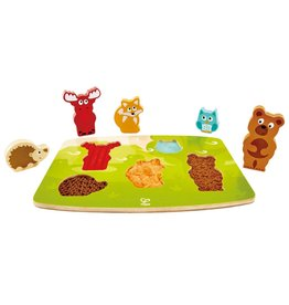Hape HAPE Forest Animal Tactile Puzzle