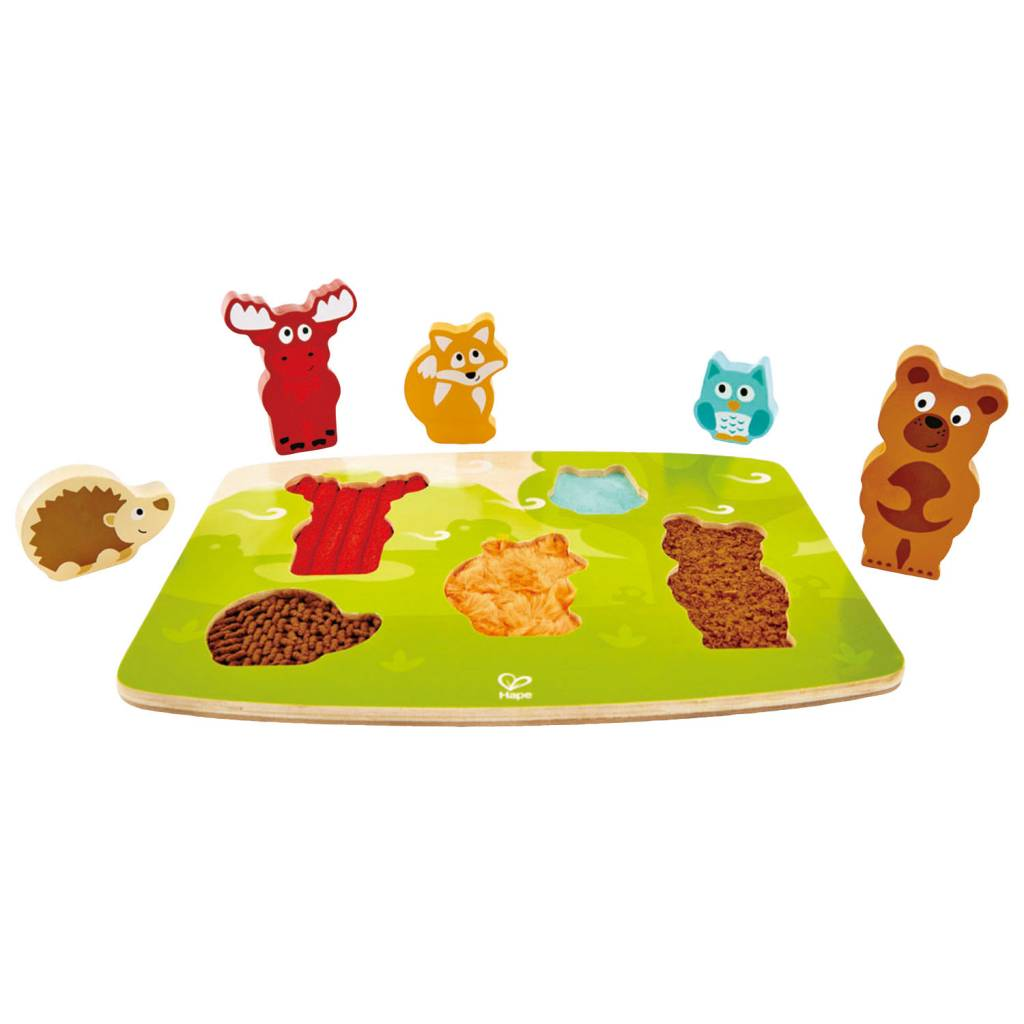 Hape HAPE Forest Animal Tactile Puzzle