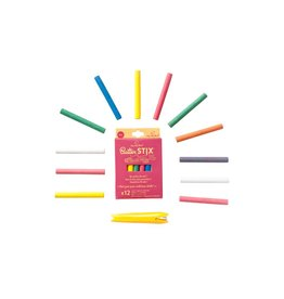 Jaq Jaq Bird Butter Stix No Dust Chalk: Multi-Color Pack with holder