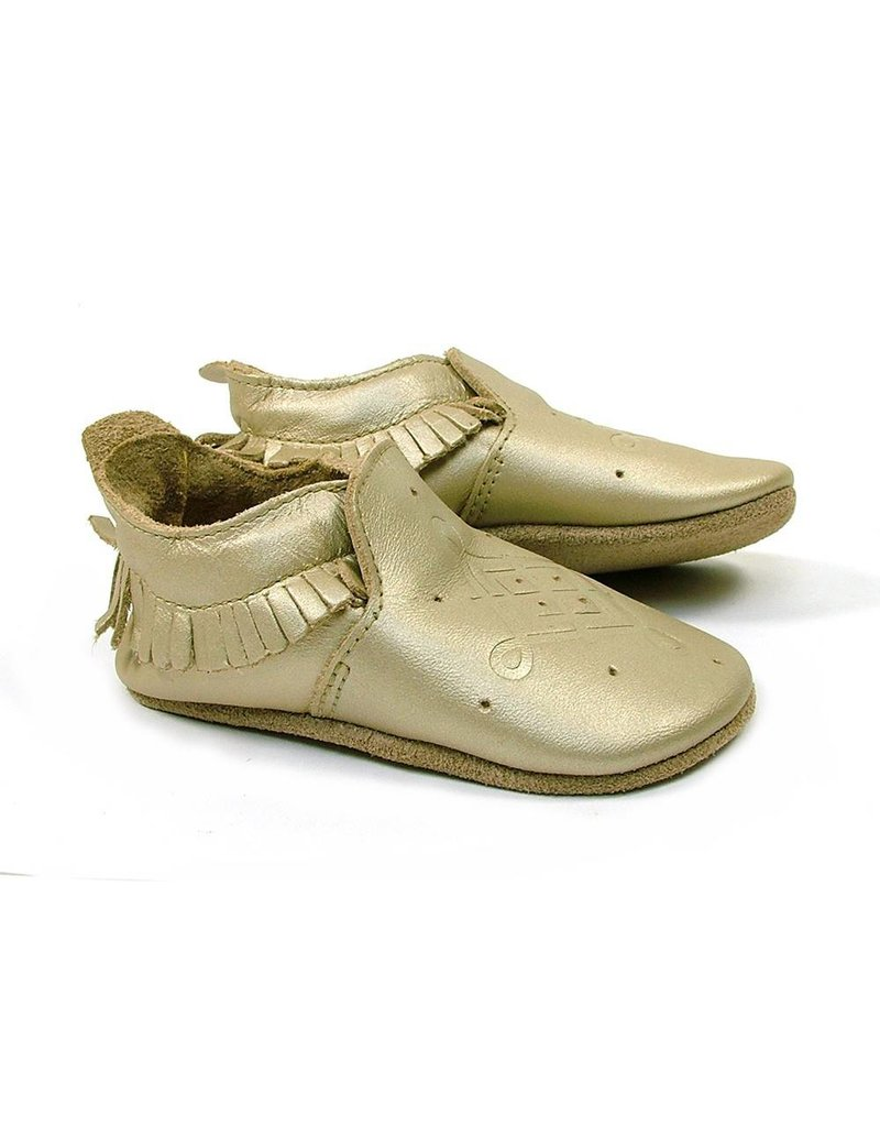 Bobux Bobux Soft Gold Loafer Mocassin
