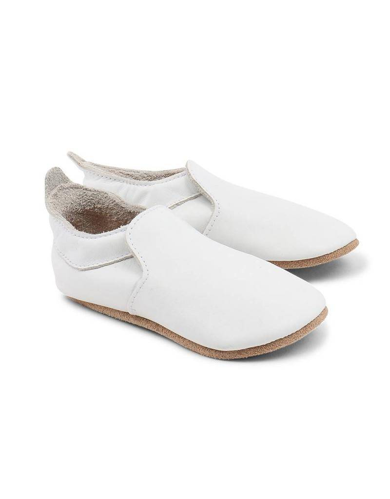 Bobux Soft Sole Loafer  in White or Black