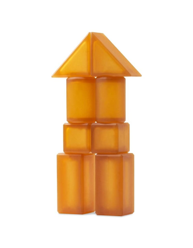 Natural Rubber Building Blocks - Rubbee Blocks