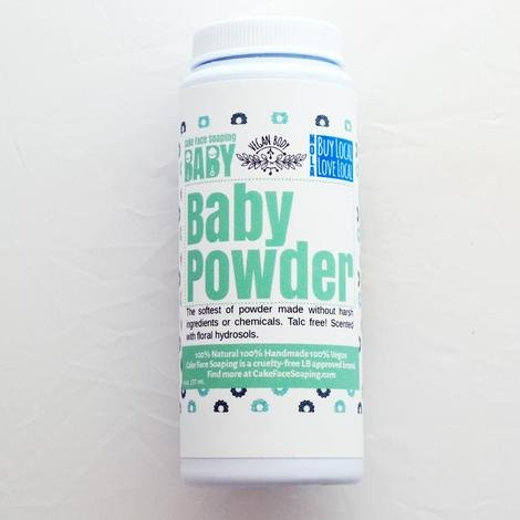 Cake Face Soaping Talc-Free Baby Powder