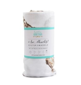 Little Hometown Aw Shucks! Bamboo Oyster Swaddle