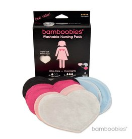 Bamboobies Bamboobies Washable Nursing Pads: Multi-pack