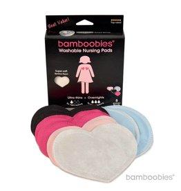 Bamboobies Washable Nursing Pads: Multi-pack