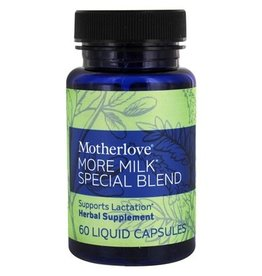 Motherlove More Milk Special Blend Capsules - 60 ct