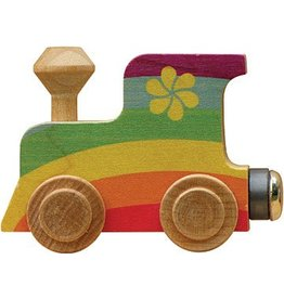 Maple Landmark Magnetic Name Train Rainbow Engine