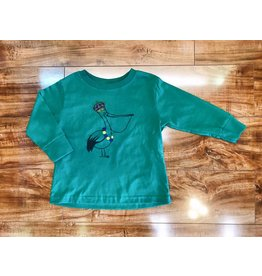 Le Petitee Mardi Gras King Pelican Long Sleeve T-Shirt