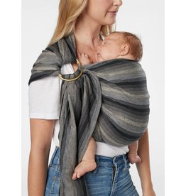 Sakura Bloom Sakura Bloom Ring Sling in Deluxe Gradient Linen - Lava