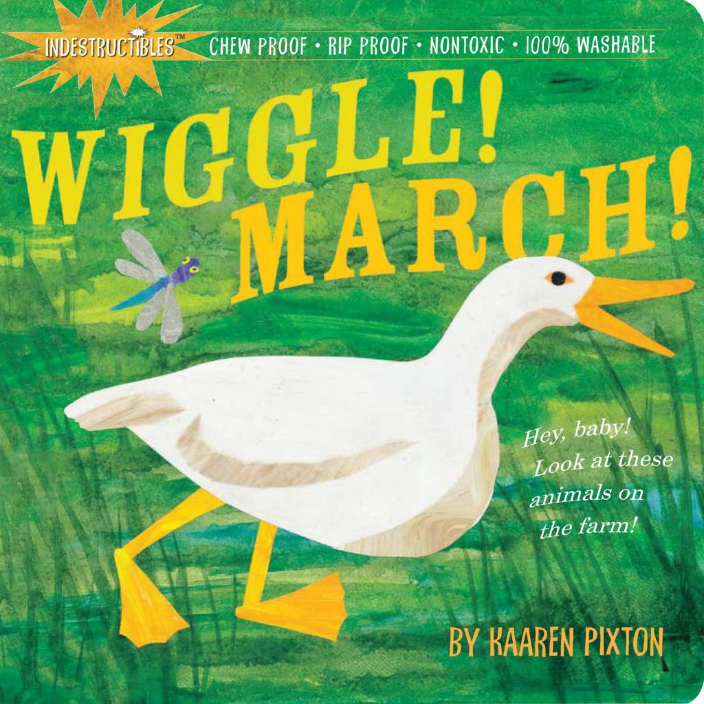 Indestructibles Baby Books Indestructibles: Wiggle March