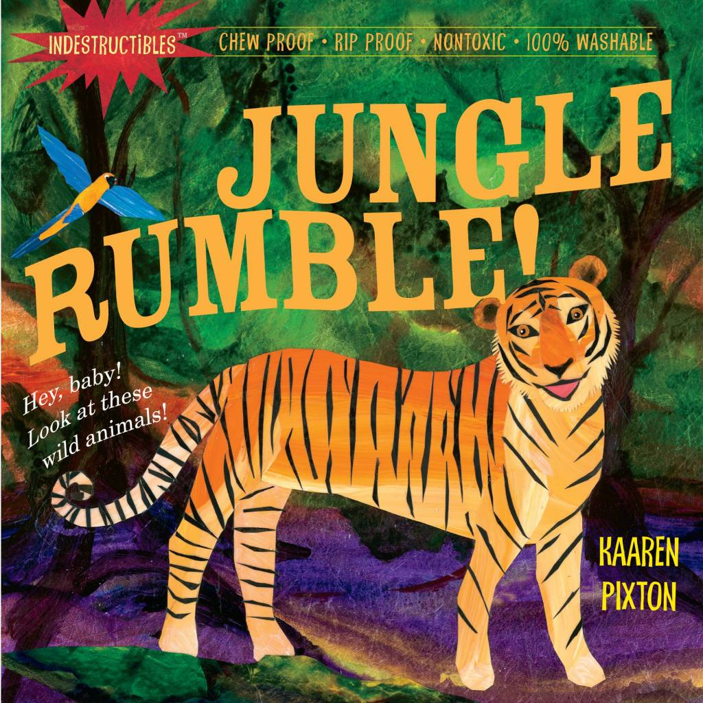 Indestructibles Baby Books Indestructibles: Jungle Rumble