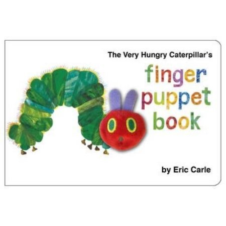 Books Very Hungry Caterpillar Finger Puppet Book