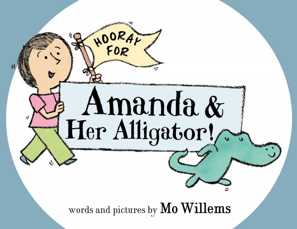 Books Hooray for Amanda & Her Alligator