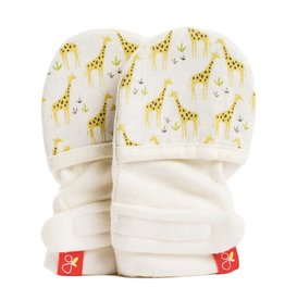 goumikids Individual Organic Mitts - On Safari