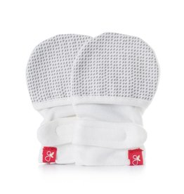 goumikids Individual Organic Mitts - Gray Drops