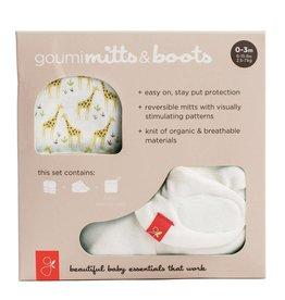 goumikids Organic Mitt + Bootie Set (0-3mo)