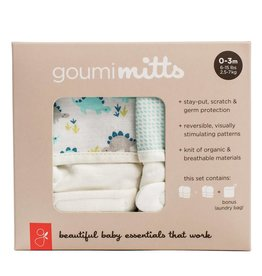 goumikids Organic 2-pk Mitt Set