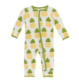 KicKee Pants Kickee Pants Coverall with Zipper