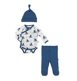 KicKee Pants Kickee Pants Kimono Newborn Gift Set