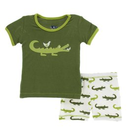 KicKee Pants Kickee Pants Short Sleeve Pajama Set
