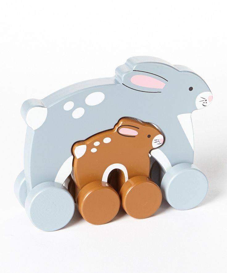 Jack Rabbit Creations Mommy & Baby Push Toys