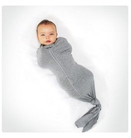 Woombie Bamboo Mod Swaddle with Knot Metro 0-3 mo