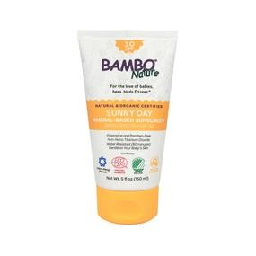 Bambo Nature Hello Sunshine! Bambo Nature Sunny Day Mineral - Based Sunscreen SPF 30