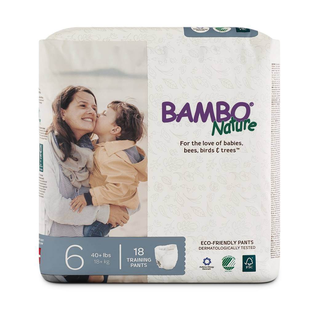 Bambo Nature Bambo Nature Training Pants XL 6