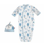 Magnetic Me Magnetic Me Modal Gown & Hat Set - Blue Up in The Air