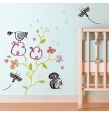 Wee Gallery Garden Wall Decal