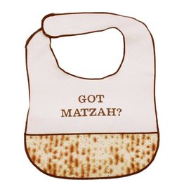 "Davida Aprons & Logo Programs INC ""Got Matzah?"" Bib"