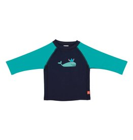 LASSIG Long Sleeve UPF Shirt - Blue Whale