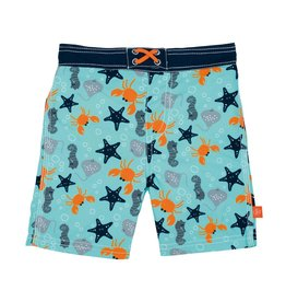LASSIG Splash & Fun Board Shorts - Star Fish