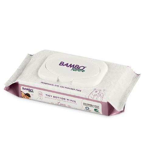 Bambo Nature Bambo Nature Tidy Bottom Wipes - 50pk