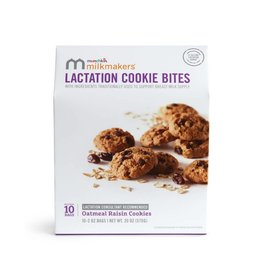 Milkmakers Oatmeal Rasin Lactation Cookie Bites