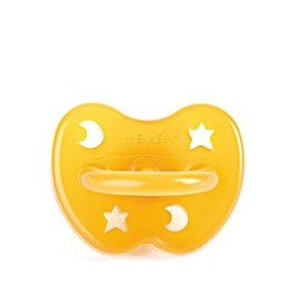 Hevea Hevea Orthodontic Natural Rubber Pacifier - Star & Moon