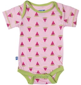 KicKee Pants KicKee Pants Short Sleeve One Piece in Lotus Watermelon