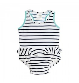 LASSIG Tanksuit+Swim Diaper  - Sailor Navy