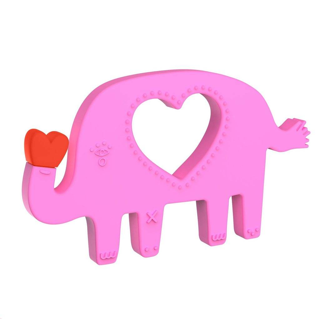 Manhattan Toys Elephant Silicone Teether