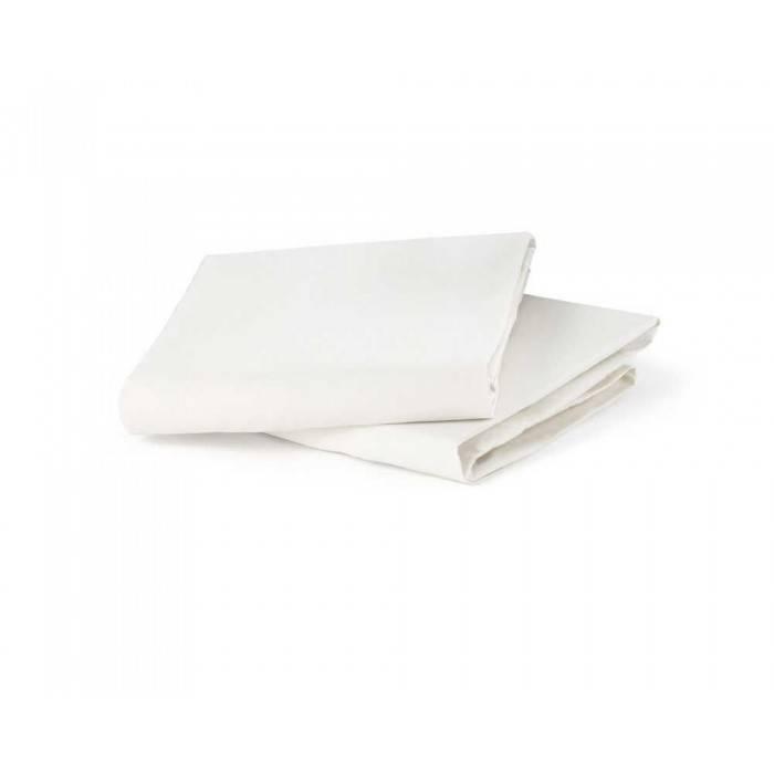 Nuna Nuna Sena aire Mini Organic Fitted Sheet - White