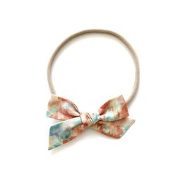 All the Little Bows All the Little Bows Fabric Headband - Classic Knot//Sunset