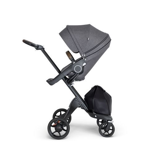Stokke Stokke® Xplory® Black Chassis with Brown Handle
