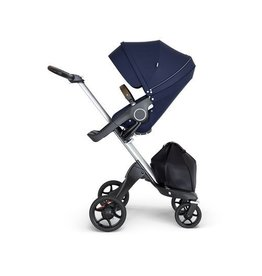 Stokke Stokke® Xplory® Silver Chassis with Brown Handle 2018