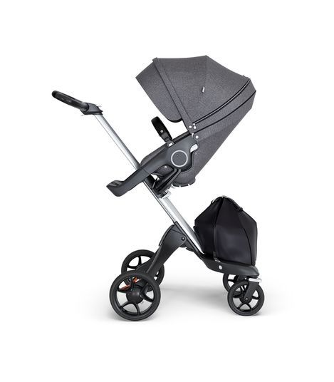 Stokke Stokke® Xplory® Silver Chassis with Black Handle