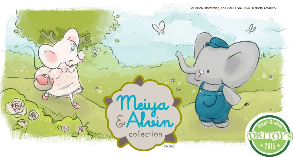 Meiya & Alvin Meiya The Mouse Soft Toy