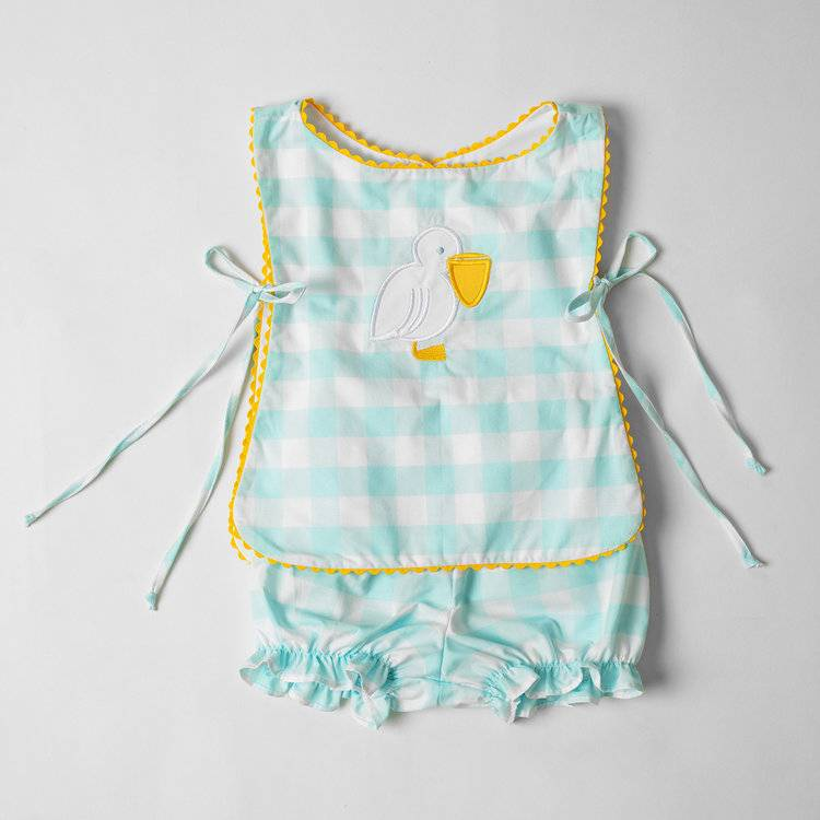Bon Temps Boutique Pelican Bloomer Set