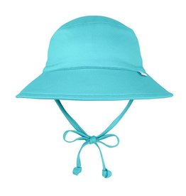 i play. i Play Swim & Sun Flap Hat - Light Aqua