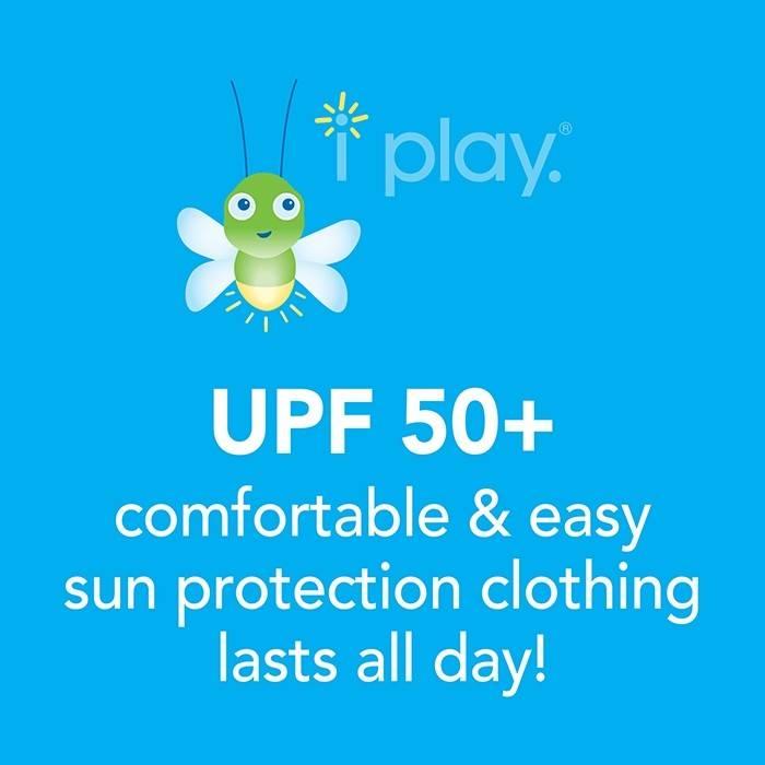 i play. i Play Swim & Sun Flap Hat - Light Aqua