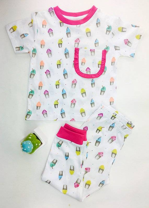 Sparkle and Adventures Snowball Pajamas- Organic